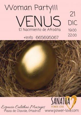 Venus: El Nacimiento de Afrodita